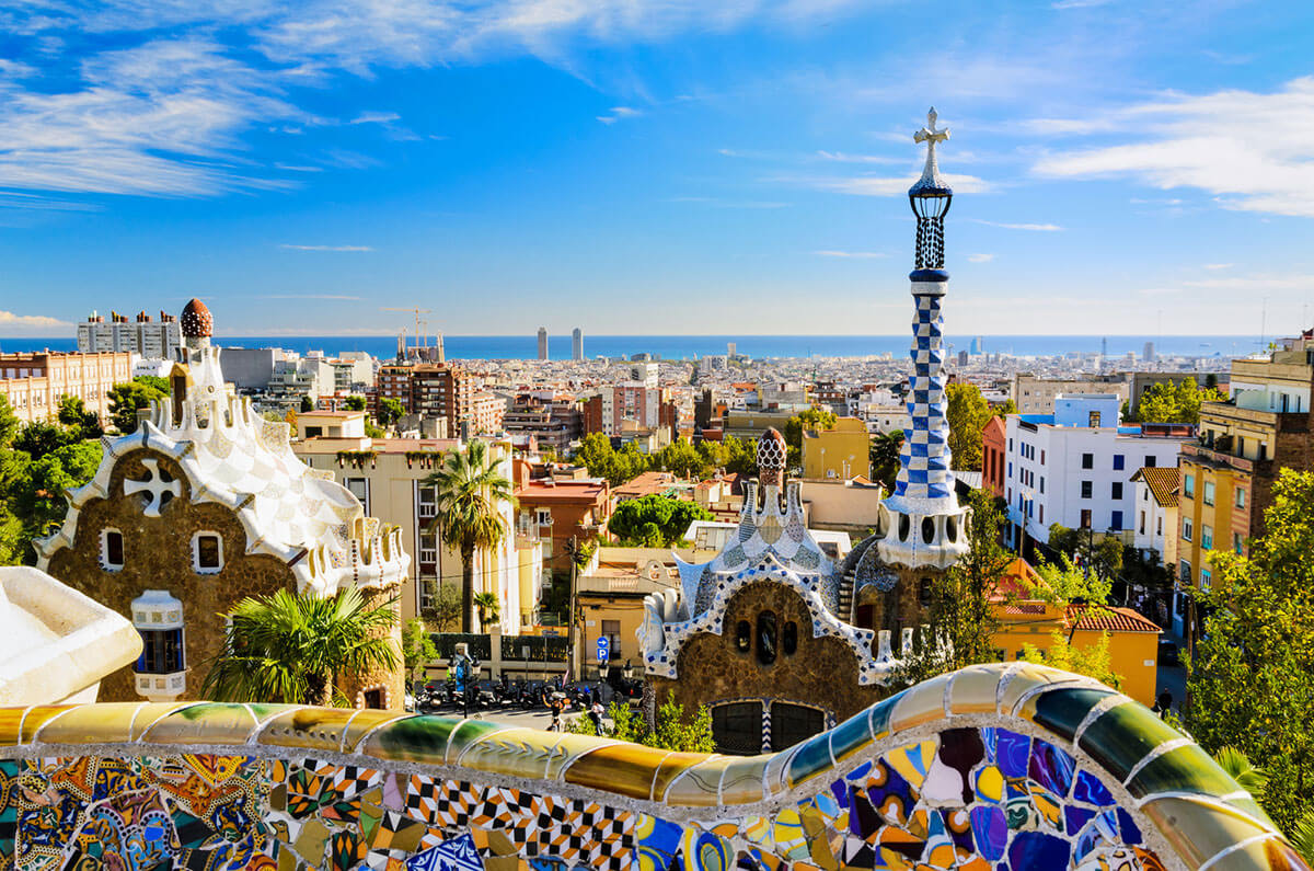 parc-guell-barcelona-spain-summer